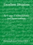 Excellent Divisions - Altblockflöte und Basso continuo