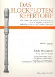 Marini, Biagio - 3 Sonaten aus op. 8 - Sopranblockflöte und Basso continuo