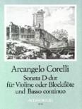 Corelli, Arcangelo - Sonata D-dur - Sopranblockflöte und Basso continuo