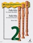Leichte Blockflötentrios 2 - Folk Hits -  3 Sopranblockflöten