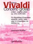 Vivaldi, Antonio - Concerto d-moll - AAAATB / AATB / AAB