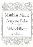 Maute, Matthias - Concerto F-dur - AAA