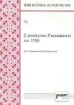 2 anonyme Passamezzi -  (ca. 1550) SSATTB