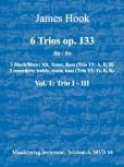 Hook, James - 6 Trios op. 133 -  Band 1 ATB