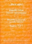 Bornmann, Johannes (Hrg.) - Da Capo - Zugabe-Sätze  - Band 1 AATB / SATB
