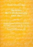 Bach, Johann Sebastian - Ouverture of 2. orchestra suite - AATB / Bc.