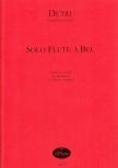 Detri, Del Sign. - Sonate c-moll - Altblockflöte und Basso continuo