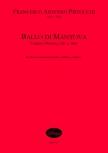 Pistocchi, Francesco Antonio - Ballo di Mantova - Sopranblockflöte und Basso continuo