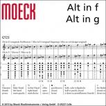 Altblockflöte (f) Moeck 8320 Consort, Ahorn gebeizt