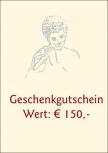 Geschenkgutschein € 150,-