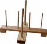 Recorder-Stand, made of oak